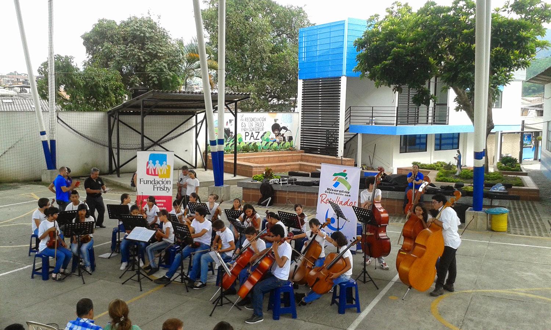 Fundación Frisby proyecto Batuta 2